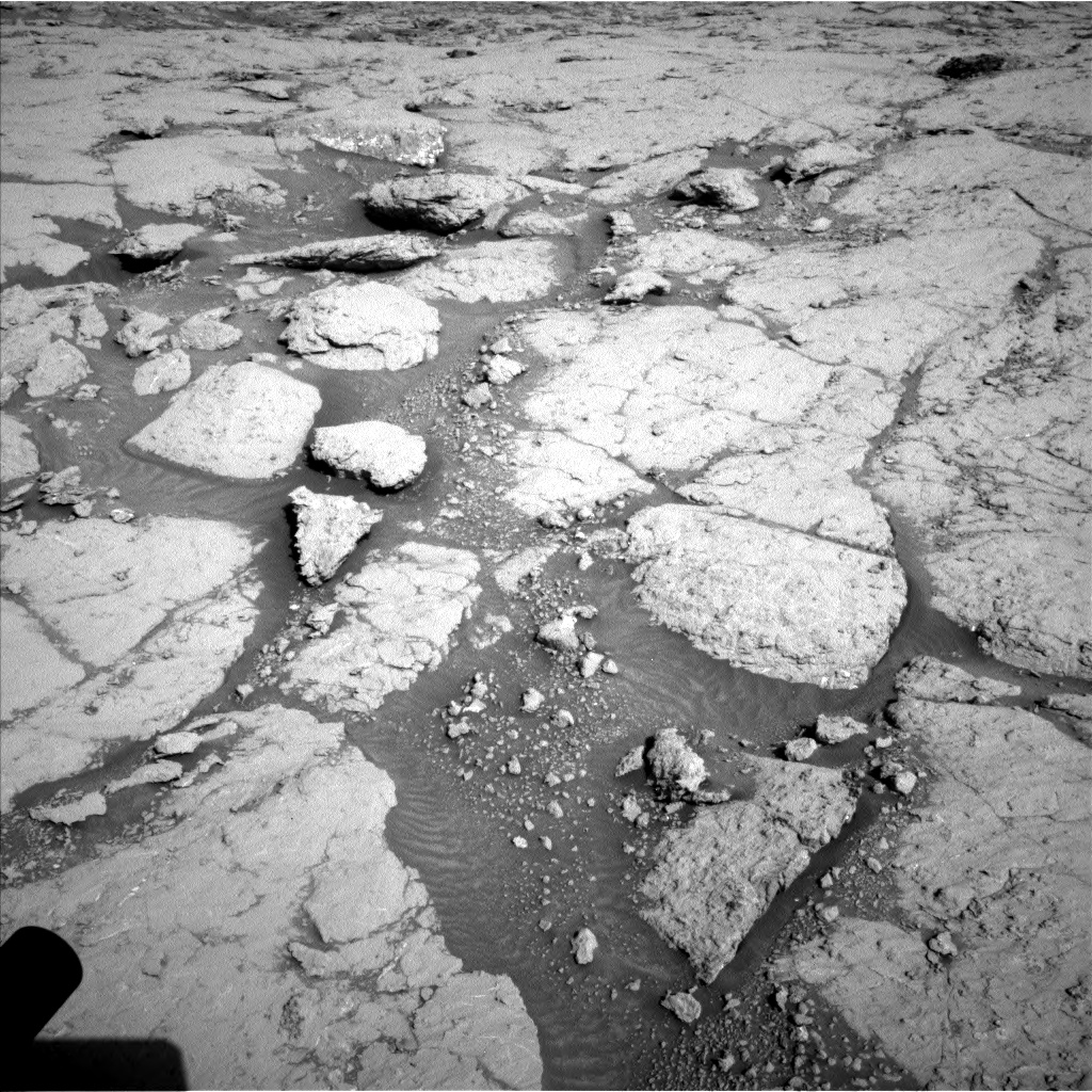 Nasa's Mars rover Curiosity acquired this image using its Left Navigation Camera on Sol 3117, at drive 114, site number 88