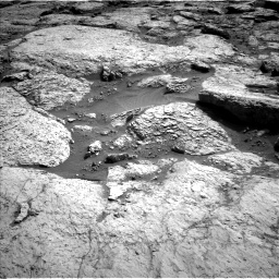 Nasa's Mars rover Curiosity acquired this image using its Left Navigation Camera on Sol 3117, at drive 126, site number 88