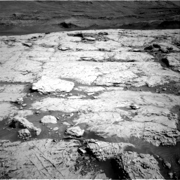 Nasa's Mars rover Curiosity acquired this image using its Right Navigation Camera on Sol 3117, at drive 6, site number 88
