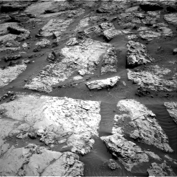 Nasa's Mars rover Curiosity acquired this image using its Right Navigation Camera on Sol 3117, at drive 48, site number 88