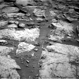 Nasa's Mars rover Curiosity acquired this image using its Right Navigation Camera on Sol 3117, at drive 72, site number 88