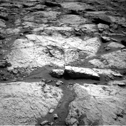 Nasa's Mars rover Curiosity acquired this image using its Right Navigation Camera on Sol 3117, at drive 96, site number 88