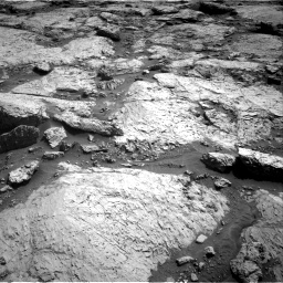 Nasa's Mars rover Curiosity acquired this image using its Right Navigation Camera on Sol 3117, at drive 102, site number 88