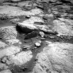 Nasa's Mars rover Curiosity acquired this image using its Right Navigation Camera on Sol 3117, at drive 108, site number 88