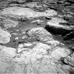 Nasa's Mars rover Curiosity acquired this image using its Right Navigation Camera on Sol 3117, at drive 126, site number 88
