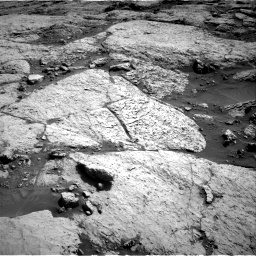 Nasa's Mars rover Curiosity acquired this image using its Right Navigation Camera on Sol 3117, at drive 144, site number 88
