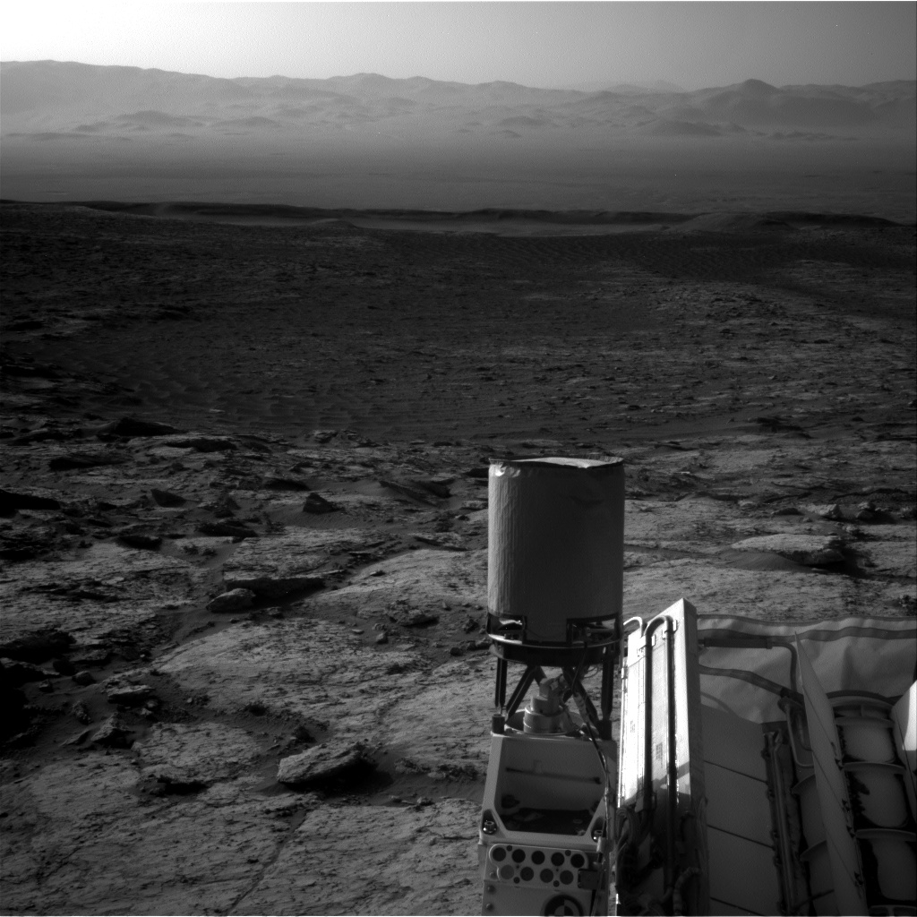 Nasa's Mars rover Curiosity acquired this image using its Right Navigation Camera on Sol 3117, at drive 156, site number 88