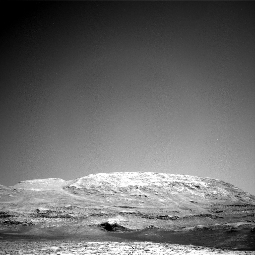 Nasa's Mars rover Curiosity acquired this image using its Right Navigation Camera on Sol 3118, at drive 156, site number 88
