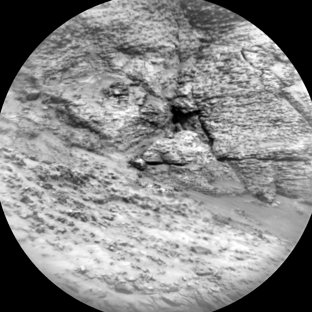Nasa's Mars rover Curiosity acquired this image using its Chemistry & Camera (ChemCam) on Sol 3119, at drive 156, site number 88