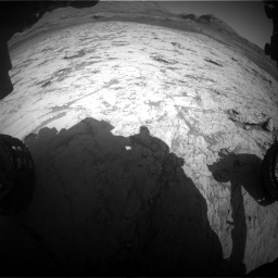 Nasa's Mars rover Curiosity acquired this image using its Front Hazard Avoidance Camera (Front Hazcam) on Sol 3120, at drive 258, site number 88