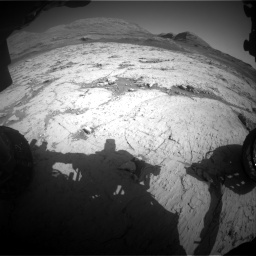 Nasa's Mars rover Curiosity acquired this image using its Front Hazard Avoidance Camera (Front Hazcam) on Sol 3120, at drive 342, site number 88