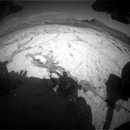 Nasa's Mars rover Curiosity acquired this image using its Front Hazard Avoidance Camera (Front Hazcam) on Sol 3120, at drive 234, site number 88