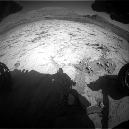 Nasa's Mars rover Curiosity acquired this image using its Front Hazard Avoidance Camera (Front Hazcam) on Sol 3120, at drive 252, site number 88