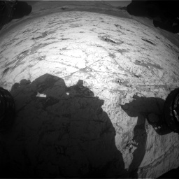 Nasa's Mars rover Curiosity acquired this image using its Front Hazard Avoidance Camera (Front Hazcam) on Sol 3120, at drive 264, site number 88