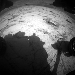 Nasa's Mars rover Curiosity acquired this image using its Front Hazard Avoidance Camera (Front Hazcam) on Sol 3120, at drive 270, site number 88
