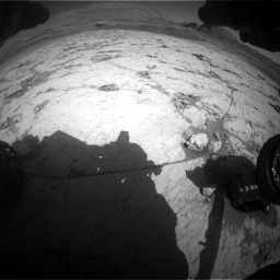 Nasa's Mars rover Curiosity acquired this image using its Front Hazard Avoidance Camera (Front Hazcam) on Sol 3120, at drive 276, site number 88