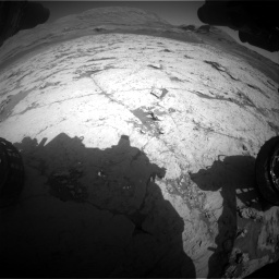 Nasa's Mars rover Curiosity acquired this image using its Front Hazard Avoidance Camera (Front Hazcam) on Sol 3120, at drive 282, site number 88