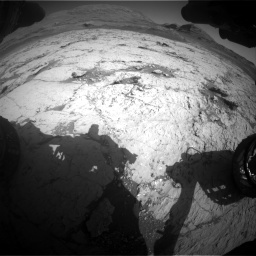 Nasa's Mars rover Curiosity acquired this image using its Front Hazard Avoidance Camera (Front Hazcam) on Sol 3120, at drive 312, site number 88