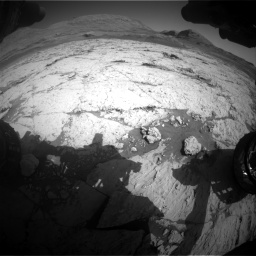 Nasa's Mars rover Curiosity acquired this image using its Front Hazard Avoidance Camera (Front Hazcam) on Sol 3120, at drive 324, site number 88