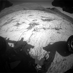 Nasa's Mars rover Curiosity acquired this image using its Front Hazard Avoidance Camera (Front Hazcam) on Sol 3120, at drive 354, site number 88