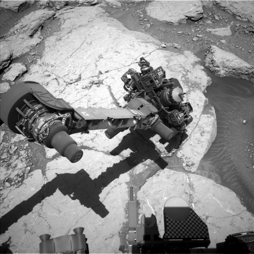 Nasa's Mars rover Curiosity acquired this image using its Left Navigation Camera on Sol 3120, at drive 156, site number 88