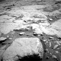 Nasa's Mars rover Curiosity acquired this image using its Left Navigation Camera on Sol 3120, at drive 162, site number 88