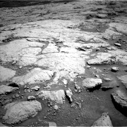 Nasa's Mars rover Curiosity acquired this image using its Left Navigation Camera on Sol 3120, at drive 192, site number 88