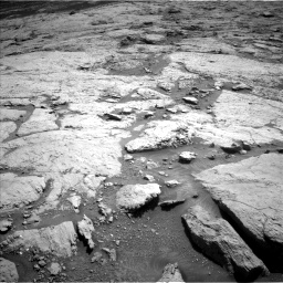 Nasa's Mars rover Curiosity acquired this image using its Left Navigation Camera on Sol 3120, at drive 198, site number 88