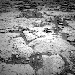 Nasa's Mars rover Curiosity acquired this image using its Left Navigation Camera on Sol 3120, at drive 222, site number 88