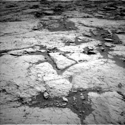 Nasa's Mars rover Curiosity acquired this image using its Left Navigation Camera on Sol 3120, at drive 228, site number 88