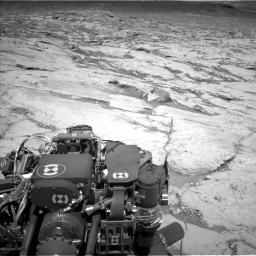 Nasa's Mars rover Curiosity acquired this image using its Left Navigation Camera on Sol 3120, at drive 234, site number 88