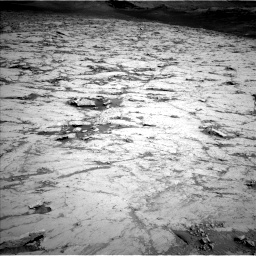 Nasa's Mars rover Curiosity acquired this image using its Left Navigation Camera on Sol 3120, at drive 246, site number 88