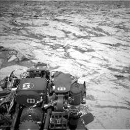Nasa's Mars rover Curiosity acquired this image using its Left Navigation Camera on Sol 3120, at drive 252, site number 88