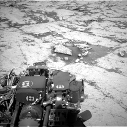 Nasa's Mars rover Curiosity acquired this image using its Left Navigation Camera on Sol 3120, at drive 276, site number 88