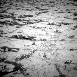 Nasa's Mars rover Curiosity acquired this image using its Left Navigation Camera on Sol 3120, at drive 288, site number 88