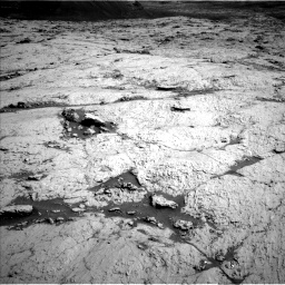 Nasa's Mars rover Curiosity acquired this image using its Left Navigation Camera on Sol 3120, at drive 324, site number 88