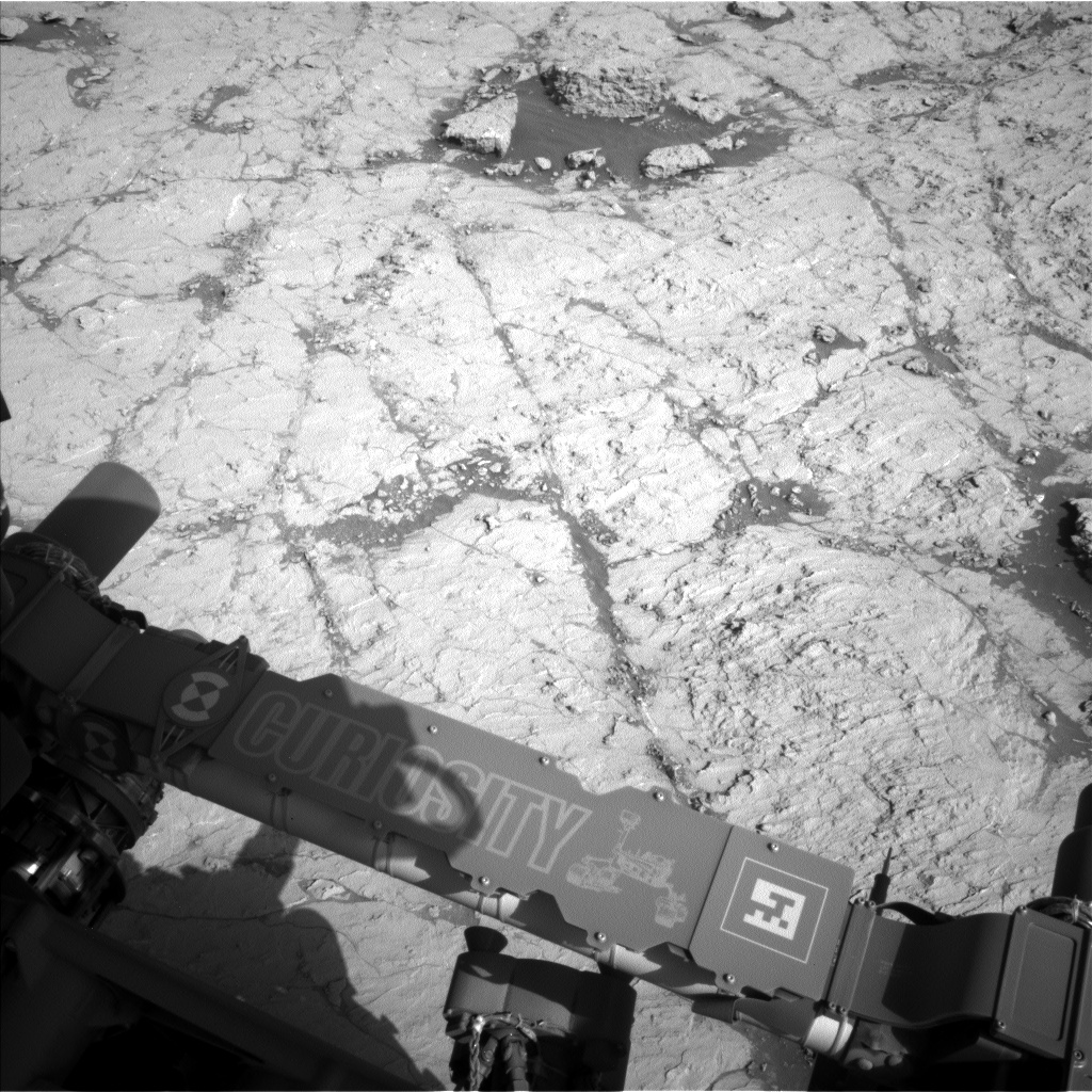 Nasa's Mars rover Curiosity acquired this image using its Left Navigation Camera on Sol 3120, at drive 366, site number 88