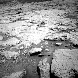 Nasa's Mars rover Curiosity acquired this image using its Right Navigation Camera on Sol 3120, at drive 174, site number 88