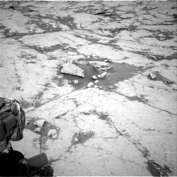 Nasa's Mars rover Curiosity acquired this image using its Right Navigation Camera on Sol 3120, at drive 276, site number 88