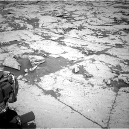 Nasa's Mars rover Curiosity acquired this image using its Right Navigation Camera on Sol 3120, at drive 282, site number 88
