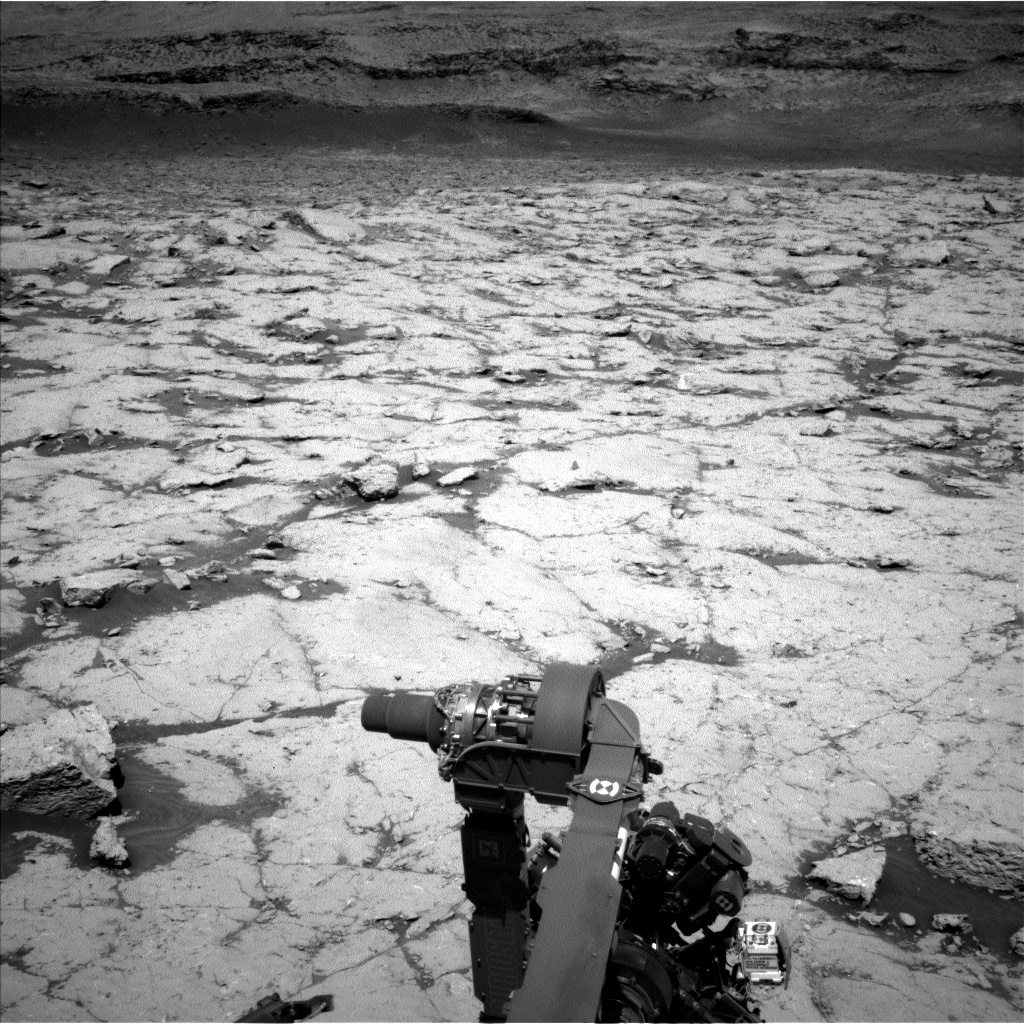 Nasa's Mars rover Curiosity acquired this image using its Left Navigation Camera on Sol 3123, at drive 366, site number 88