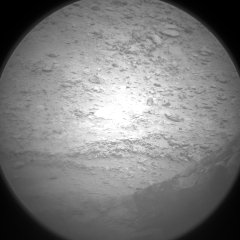 Nasa's Mars rover Curiosity acquired this image using its Chemistry & Camera (ChemCam) on Sol 3124, at drive 366, site number 88