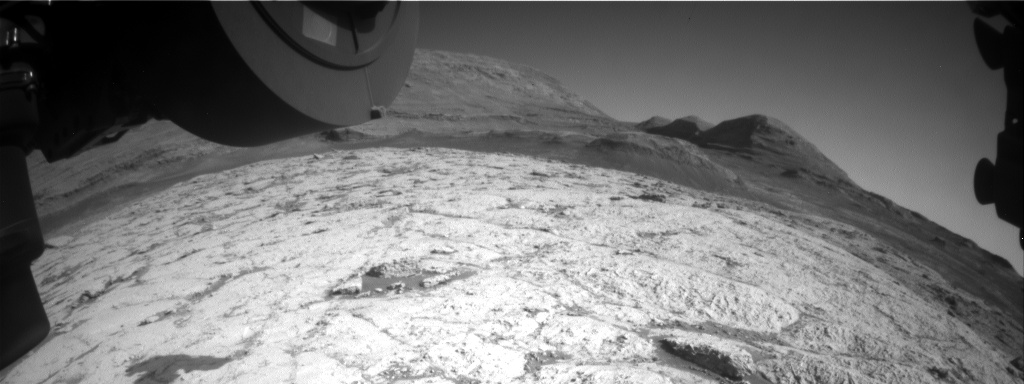 Nasa's Mars rover Curiosity acquired this image using its Front Hazard Avoidance Camera (Front Hazcam) on Sol 3130, at drive 366, site number 88