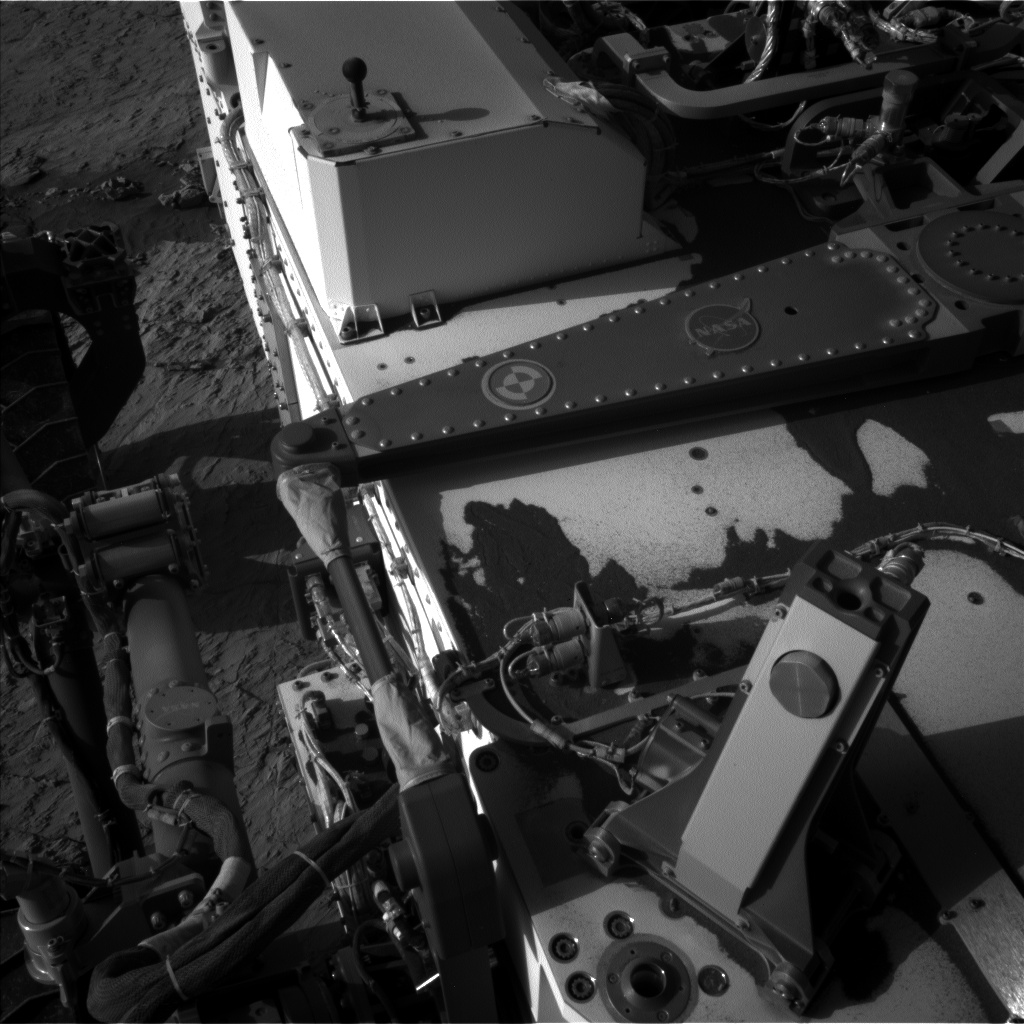 Nasa's Mars rover Curiosity acquired this image using its Left Navigation Camera on Sol 3131, at drive 366, site number 88