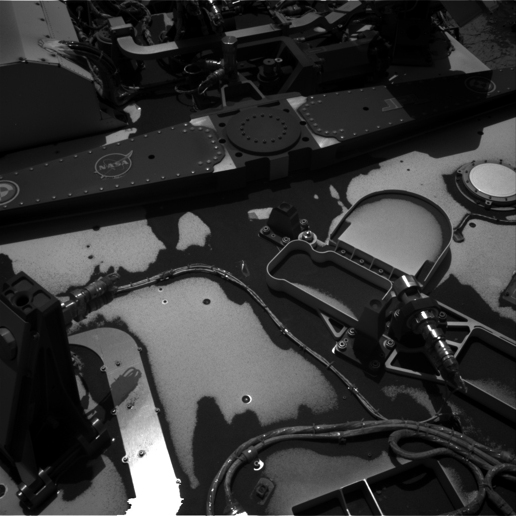 Nasa's Mars rover Curiosity acquired this image using its Right Navigation Camera on Sol 3131, at drive 366, site number 88