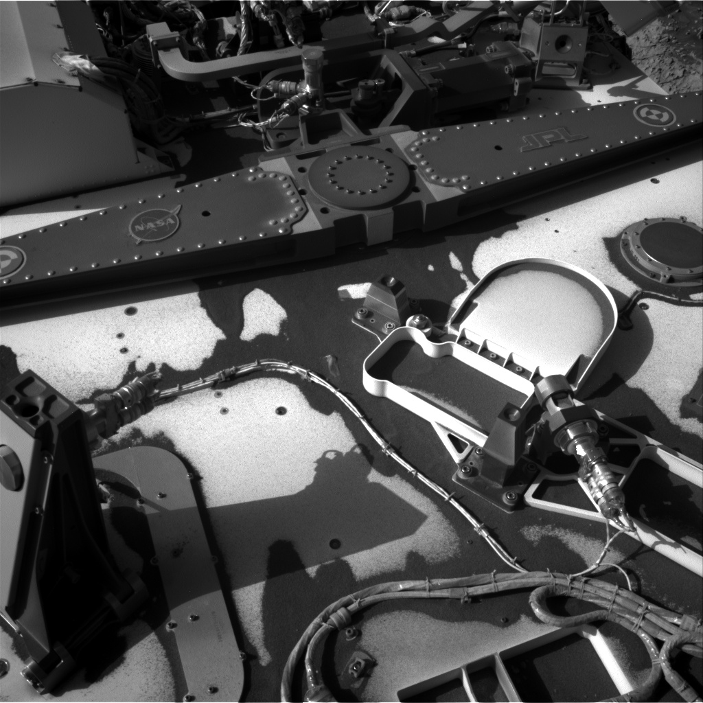 Nasa's Mars rover Curiosity acquired this image using its Right Navigation Camera on Sol 3132, at drive 366, site number 88