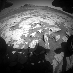 Nasa's Mars rover Curiosity acquired this image using its Front Hazard Avoidance Camera (Front Hazcam) on Sol 3136, at drive 702, site number 88