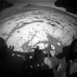 Nasa's Mars rover Curiosity acquired this image using its Front Hazard Avoidance Camera (Front Hazcam) on Sol 3136, at drive 714, site number 88