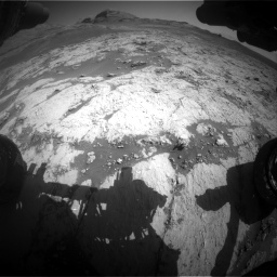 Nasa's Mars rover Curiosity acquired this image using its Front Hazard Avoidance Camera (Front Hazcam) on Sol 3136, at drive 738, site number 88