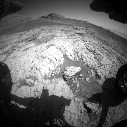 Nasa's Mars rover Curiosity acquired this image using its Front Hazard Avoidance Camera (Front Hazcam) on Sol 3136, at drive 768, site number 88